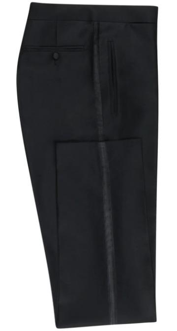 Juodos Black Tie kelnės