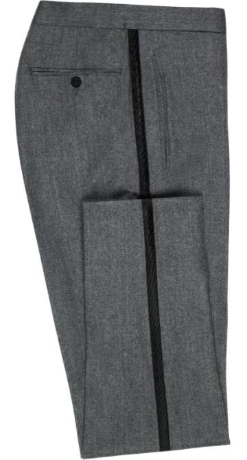 Pilkos Black Tie kelnės