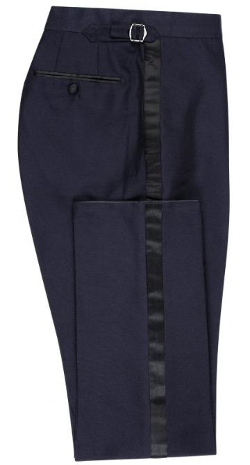 Tamsiai mėlynos Black Tie kelnės