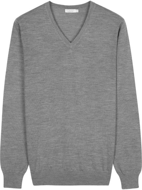Smart Casual pilkas megztinis