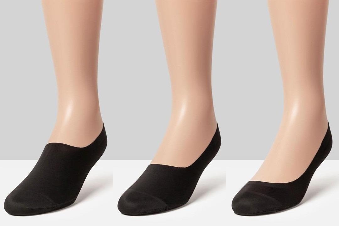Skirtingų modelių kojinės pedutės