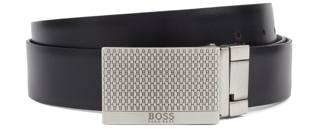 Hugo Boss diržas uždara įspaudžiama sagtimi