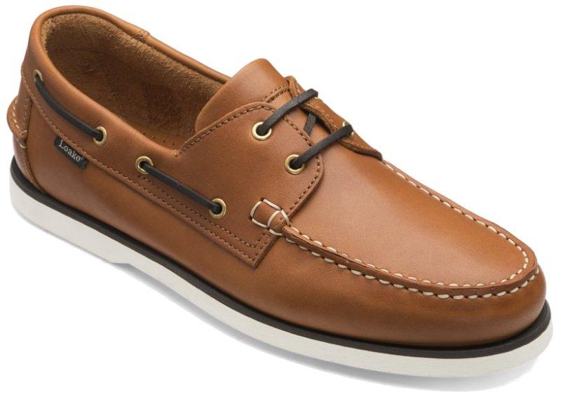 Loake šviesiai rudi laivo denio batai