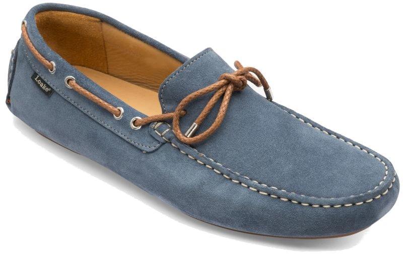 Loake šviesiai mėlyni vairavimo batai