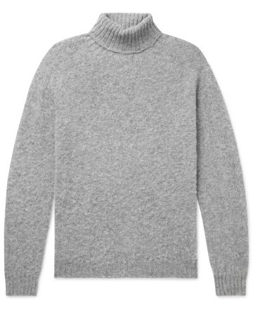 Šviesiai pilkas megztinis