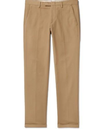 Šviesiai rudos kelnės