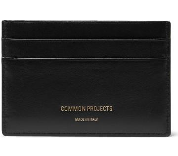 Stilinga dovana vyrui juoda kortelių piniginė