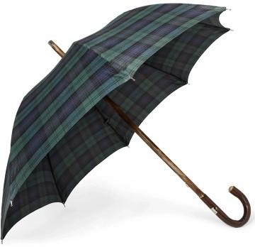 Stilinga dovana vyrui mėlynas languotas skėtis