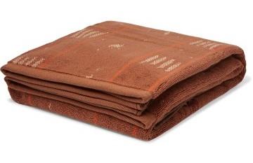 Stilinga dovana vyrui rudas margas rankšluostis