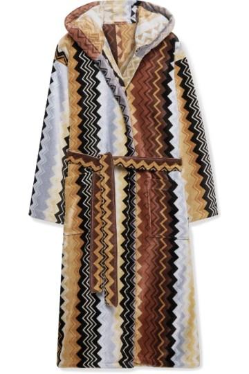 Stilinga dovana vyrui rudas margas chalatas