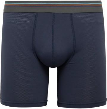 Stilinga vyriška dovana tamsiai mėlynos apatinio trikotažo kelnaitės