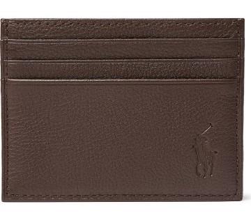 Stilinga dovana vyrui tamsiai ruda kortelių piniginė