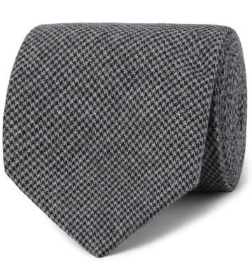 Stilinga vyriška dovana pilkas raštuotas kaklaraištis
