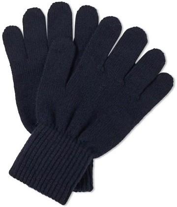 Stilinga vyriška dovana tamsiai mėlynos pirštinės