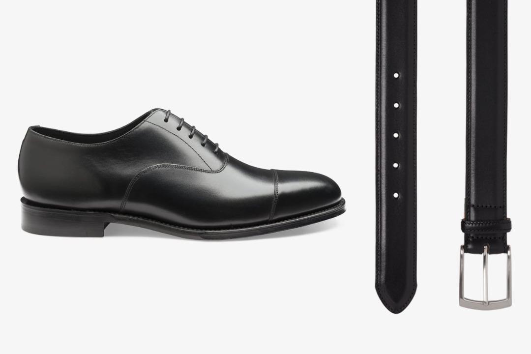 Juodi batai ir juodas diržas
