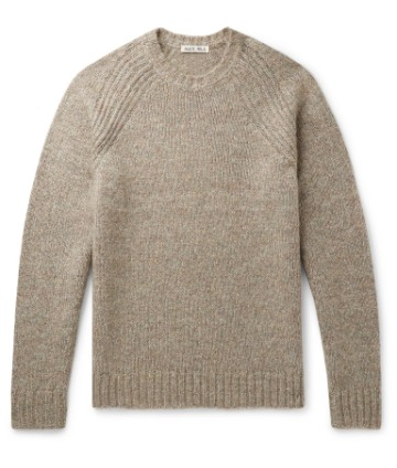 Megztinis reglano rankovėmis