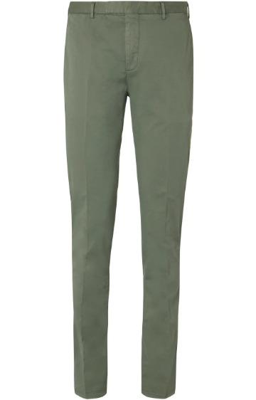 Slim fit kelnės