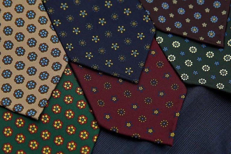 10 kaklaraiščių, kuriuos reikia turėti