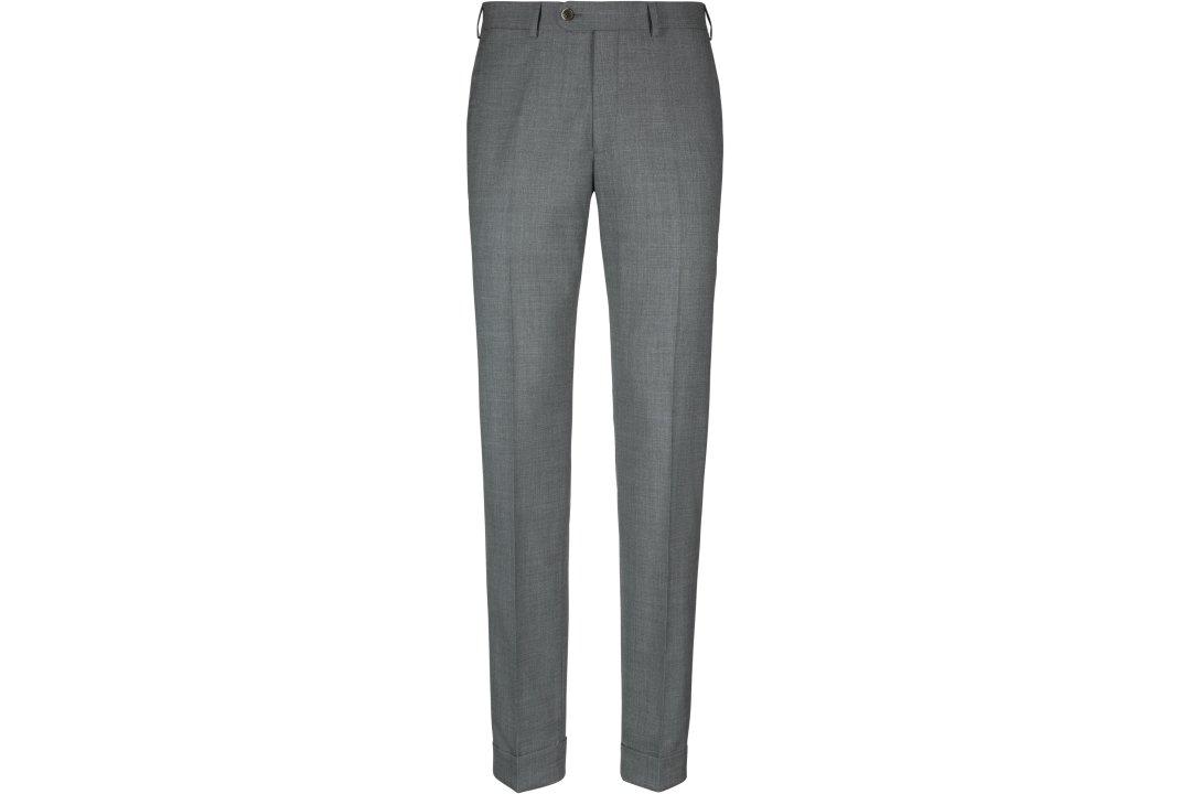 Suitsupply Šviesiai pilkos kostiuminės kelnės